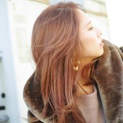 ロング 大学生 デート 簡単ヘアアレンジ ヘアスタイルや髪型の写真・画像