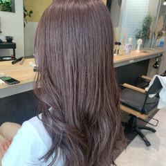 ラベージュ ナチュラル ショコラブラウン ラベンダーグレージュ ヘアスタイルや髪型の写真・画像
