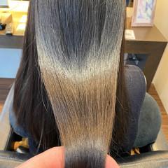 髪質改善 髪質改善カラー ナチュラル ロング ヘアスタイルや髪型の写真・画像