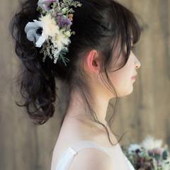 成人式 セミロング 結婚式 ナチュラル ヘアスタイルや髪型の写真・画像