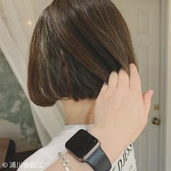 大人かわいい ゆるふわ 切りっぱなしボブ 秋冬スタイル ヘアスタイルや髪型の写真・画像