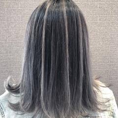 成人式 バレイヤージュ ストリート 外国人風 ヘアスタイルや髪型の写真・画像