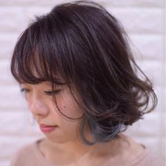 フェミニン アウトドア デート アンニュイほつれヘア ヘアスタイルや髪型の写真・画像