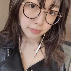 モテ髪 眼鏡 黒髪 ヴィーナスコレクション ヘアスタイルや髪型の写真・画像