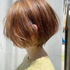ショートボブ ショートヘア ショート ミニボブ ヘアスタイルや髪型の写真・画像