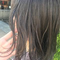 透明感 ナチュラル ブルージュ 秋 ヘアスタイルや髪型の写真・画像