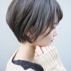 ショート アウトドア デート ガーリー ヘアスタイルや髪型の写真・画像