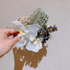 ロング ナチュラル 結婚式ヘアアレンジ 卒業式 ヘアスタイルや髪型の写真・画像