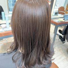 透明感 ロング ナチュラル ナチュラル可愛い ヘアスタイルや髪型の写真・画像