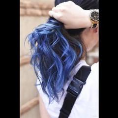 グラデーションカラー 外国人風カラー ストリート バレイヤージュ ヘアスタイルや髪型の写真・画像