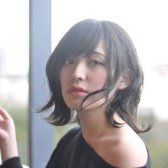 ナチュラル ヘアアレンジ パーマ 透明感カラー ヘアスタイルや髪型の写真・画像