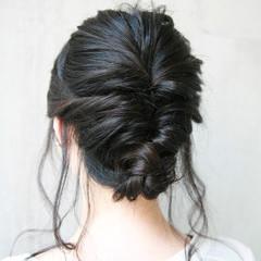 上品 涼しげ ヘアアレンジ ロング ヘアスタイルや髪型の写真・画像