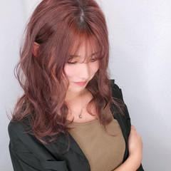 ラベンダーピンク 髪質改善トリートメント エレガント 髪質改善カラー ヘアスタイルや髪型の写真・画像