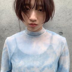 ショートヘア ガーリー ショート ショートボブ ヘアスタイルや髪型の写真・画像