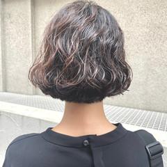 パーマ 無造作パーマ モード ヘアスタイルや髪型の写真・画像