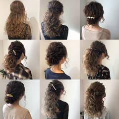ヘアアレンジ フェミニン アップスタイル 結婚式髪型 ヘアスタイルや髪型の写真・画像