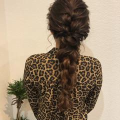 ヘアアレンジ 編み込み フェミニン ヘアセット ヘアスタイルや髪型の写真・画像