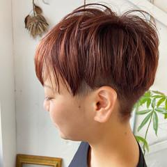ベリーショート ツーブロック ショート 大人ショート ヘアスタイルや髪型の写真・画像