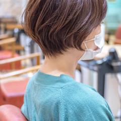 アッシュ ショートヘア ショート ショートボブ ヘアスタイルや髪型の写真・画像