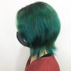 ハイトーン ショート 派手髪 メンズカラー ヘアスタイルや髪型の写真・画像