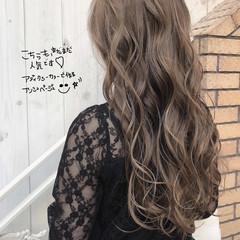 外国人風カラー グラデーションカラー ロング エレガント ヘアスタイルや髪型の写真・画像