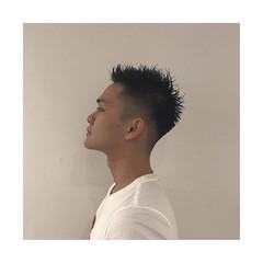 スキンフェード ツーブロック ストリート ショート ヘアスタイルや髪型の写真・画像