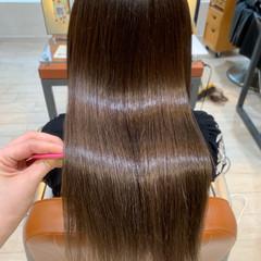 ロング 髪質改善 レイヤーカット ロングヘア ヘアスタイルや髪型の写真・画像