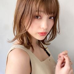 大人かわいい アンニュイほつれヘア パーティー ミディアム ヘアスタイルや髪型の写真・画像