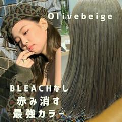 韓国ヘア 韓国風ヘアー ウルフカット セミロング ヘアスタイルや髪型の写真・画像