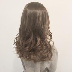グラデーションカラー ハイライト ロング デート ヘアスタイルや髪型の写真・画像