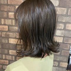 外ハネボブ N.オイル 切りっぱなしボブ ボブ ヘアスタイルや髪型の写真・画像