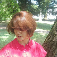 小顔 ショート 似合わせ エフォートレス ヘアスタイルや髪型の写真・画像