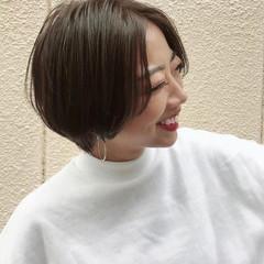 ベリーショート ショートボブ マッシュショート ナチュラル ヘアスタイルや髪型の写真・画像