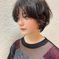 ショートボブ 大人ショート ハンサムショート ショートヘア ヘアスタイルや髪型の写真・画像