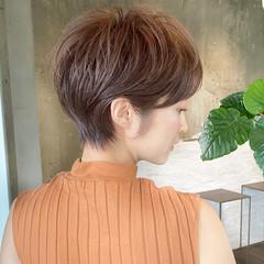 ショート 表参道 エレガント ショートボブ ヘアスタイルや髪型の写真・画像