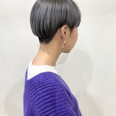 ショート マッシュショート モード ベリーショート ヘアスタイルや髪型の写真・画像