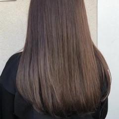 アンニュイほつれヘア オフィス ロング ヘアアレンジ ヘアスタイルや髪型の写真・画像