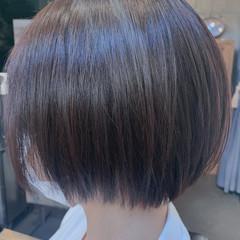 ナチュラル ボブ ミニボブ ヘアスタイルや髪型の写真・画像