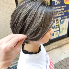 ホワイト スポーツ ストリート 外国人風 ヘアスタイルや髪型の写真・画像