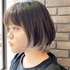 ネオウルフ ショートヘア ホワイトブリーチ ウルフカット ヘアスタイルや髪型の写真・画像
