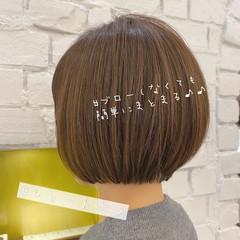 ミニボブ ショートボブ 丸みショート ショート ヘアスタイルや髪型の写真・画像