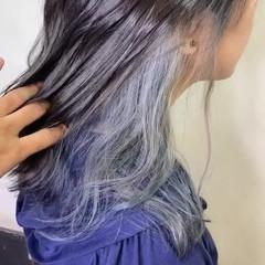 ヘアアレンジ セミロング スポーツ ガーリー ヘアスタイルや髪型の写真・画像