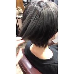 ハイライト ショート ベリーショート ナチュラル ヘアスタイルや髪型の写真・画像