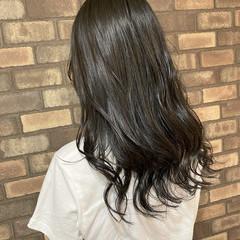 艶髪 透明感 ナチュラル ロング ヘアスタイルや髪型の写真・画像