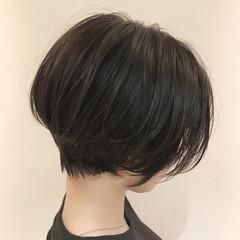 ショート ショートヘア 黒髪 大人ショート ヘアスタイルや髪型の写真・画像