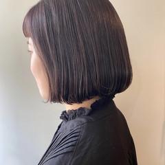 ラベンダーカラー ラベンダー ラベンダーアッシュ ラベンダーグレー ヘアスタイルや髪型の写真・画像