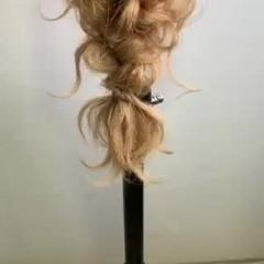編みおろし アンニュイ アンニュイほつれヘア フェミニン ヘアスタイルや髪型の写真・画像