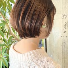 大人ショート 前下がりショート ミニボブ ショートボブ ヘアスタイルや髪型の写真・画像