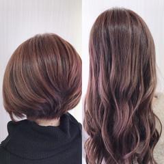 ハイライト ナチュラル 外国人風カラー ロング ヘアスタイルや髪型の写真・画像