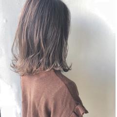 ナチュラル ミディアム 女子力 艶髪 ヘアスタイルや髪型の写真・画像